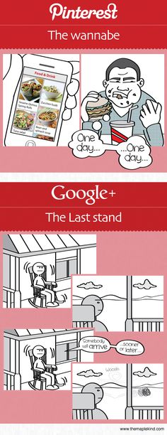 Google Plus one is hilarious! #smm