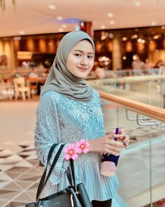 Casual Hijab Outfit, Ootd Hijab, Girl Hijab, Beautiful Girl Image, Beautiful Hijab, Hijab Fashion, Fashion Outfits, Womens Fashion, Cute Baby Girl Pictures