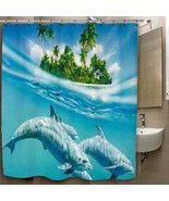 Dolphin Swim on the Sea Custom Print On Polyest... - $35.00 - $41.00