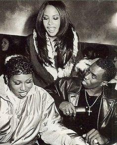 Missy Elliot, Aaliyah & Puff Daddy