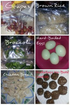 Prepared meals for the week! facebook.com/JanetTrippFitness