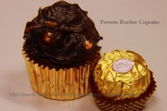 Ferrero Rocher is a whole hazelnut surrounded by smooth and creamy chocolate covered in milk chocolate and hazelnut pieces. Description from sweet-temptations-homemadecakes.blogspot.com. I searched for this on bing.com/images