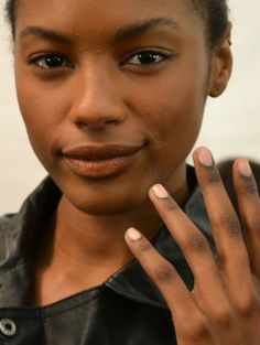 "OPI ""Passion"", worn at BCBG Max Azria and Herve Leger by Max Azria--a barely there nude that adds just enough opacity to make your manicure look extra-polished"