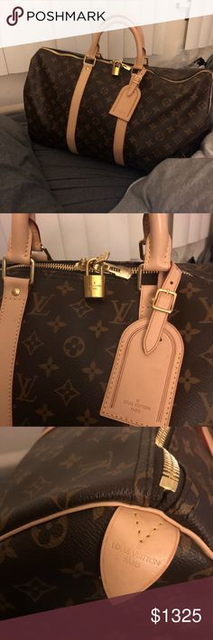 f0d44fe1da3a Louis Vuitton Keepall 50 Monogram In pretty much excellent condition with  slight water spots and storage