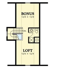 Plan 69438AM: Cottage with 3rd Floor Loft