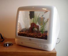 Una gran idea para reciclar tu antiguo ordenador.