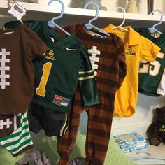 Dream baby's closet. #Baylor #FutureBear #SicEm
