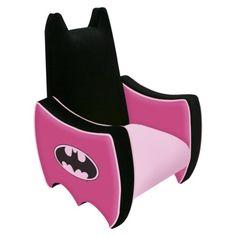 HOLY BAT GIRL....Magical Harmony Kids Batgirl Icon Chair
