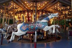 Carousel in Spring Park, Tuscumbia, Alabama