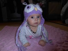 Owl Hat I Have Been Waiting, Owl Hat, To My Daughter, Beanie, Hats, How To Make, Fashion, Moda, Hat