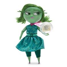 Disgust Deluxe Talking Doll - Inside Out - 9 1/2'' H
