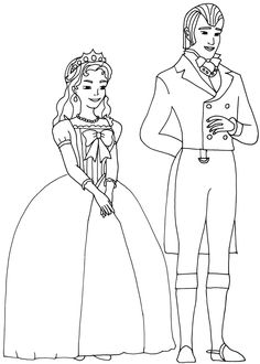 King And Queen Sofia The First Coloring Page