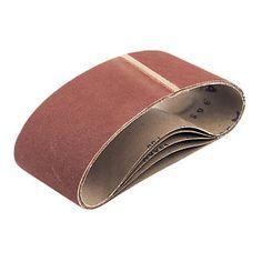 Screwfix Cloth Sanding Belts Unpunched 100 x 610mm 120 Aluminium oxide. Highest quality full resin cloth belts. Open coat aluminium oxide abrasive. http://www.MightGet.com/january-2017-13/screwfix-cloth-sanding-belts-unpunched-100-x-610mm-120.asp
