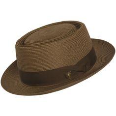 Dobbs Gate Porkpie Hat at Amazon Men's Clothing store: Fedoras