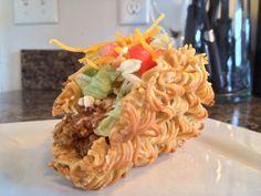 The ramen taco. nooooooo waaaaaay, dude that is so cool!