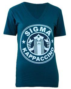 Sigma Kappa Giving V-Neck by Adam Block Design | Custom Greek Apparel & Sorority Clothes | www.adamblockdesign.com