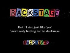 Spark - Backstage Cast (Theme song lyrics) - YouTube