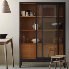 Beautiful Sliding Tempered Glass Doors Stackable Storage Cabinet