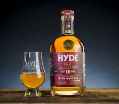 Hyde premium single malt Irish whiskey
