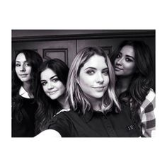 Troian, Lucy, Ashley and Shay #PLL