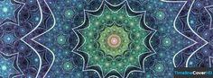 Aqua Pattern Facebook Cover Timeline Banner For Fb Facebook Cover