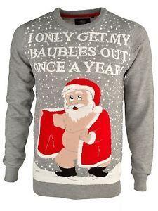 Naughty Santa jumper ⋆ Christmas Jumpers, Men's Jumpers, Rude Jumpers ⋆ Christmas Jumpers