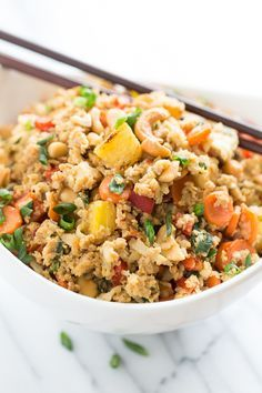 Paleo Pineapple Fried Rice | Get Inspired Everyday!