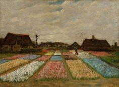 "Vincent Van Gogh- ""Bulb Fields"" (1883)"