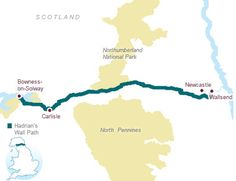 Overview of the Hadrian's Wall Path. Walk the trail of Hadrian's Wall this site helps you plan your trip.