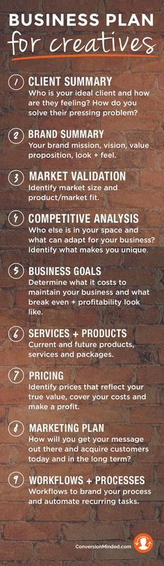 Business Plan Infographic for creatives to validate your ideas and establish concrete goals so you have them all in one place. It doesn't have to be fancy or elaborate, just a simple road map for where your business is going so you know what to do and WHEN to get there faster.