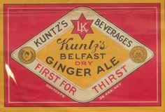 Kuntz's Belfast Dry Ginger Ale