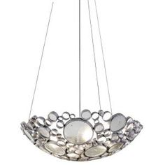 Varaluz Fascination 4-Light Nevada Pendant with Clear Glass 165P04 at The Home Depot - Mobile