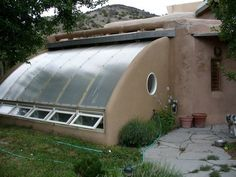 quanset hut underground greenhouse
