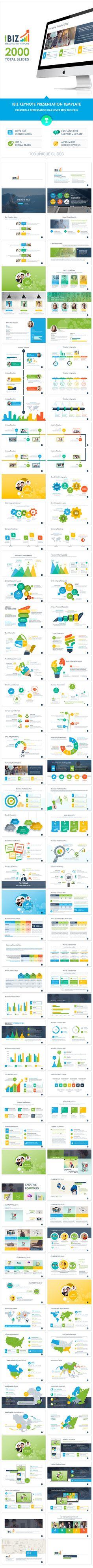 Keynote Template #design #slides Download: http://graphicriver.net/item/ibiz-keynote-template/13511280?ref=ksioks
