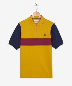 Fred Perry - Colour Block Cycling Shirt