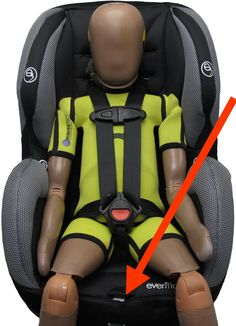 Canadian Evenflo Car Seat ADVISORY