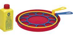 Bolle di sapone giganti http://www.borgione.it/Giocare-con-acqua-a-sabbia/Attrezzi-e-giochi-per-acqua,-sabbia,-giardinaggio/Bolle-di-sapone-giganti/ca_4994.html