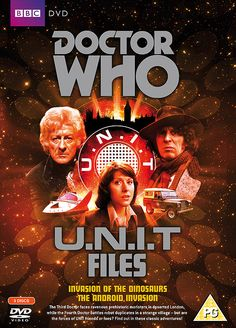 """Doctor Who"" Doctor Who: U.N.I.T Files Box Set (DVD) at BBC Shop"
