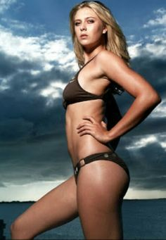 Yummy . Maria Sharapova
