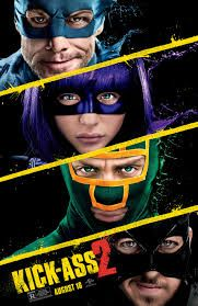 Talk about Deja Vu The latest poster for Kick-Ass 2 presents the cast of heroes, Hit-Girl (Chloe Grace Moretz) and Colonel Stars & Stripes (Jim Carrey), an Aaron Taylor Johnson, Jim Carrey, Poster Photo, New Poster, Love Movie, Film Movie, Comedy Movies, Style Movie, Hindi Movie