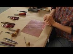 Learn about the main types of printmaking: relief, intaglio and lithography.