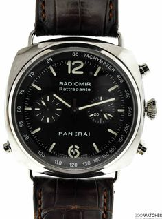 Mens Panerai Radiomir Rattrapante SS Chronograph Automatic | chronograph watches for men Item ID: 300W109311 | 300watches