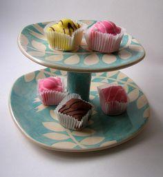 ken eardley:cakestand - bird design