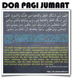 Doa Pagi Jumaat