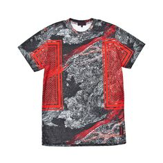 T-Shirt - IUTER - LAVA PRIME TEE - Red www.Fashionspacestore.com