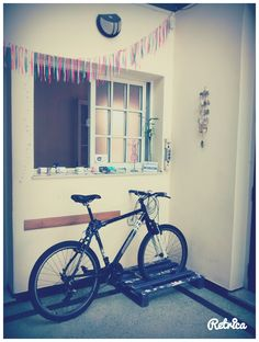 podes dejar la bici en nuestro eco-bicicletero!