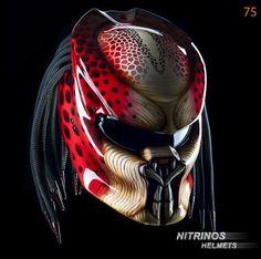 Casque de moto Nitrinos personnalisable