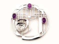 Charles Rennie Mackintosh jewelry