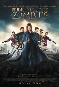 Lena Headey, Sam Riley, Matt Smith, Bella Heathcote, Douglas Booth and Lily James in Pride and Prejudice and Zombies (2016)