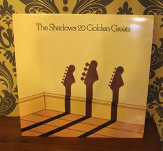 Vintage Shadows record, very retro, Collectable. by bespokebydionne on Etsy